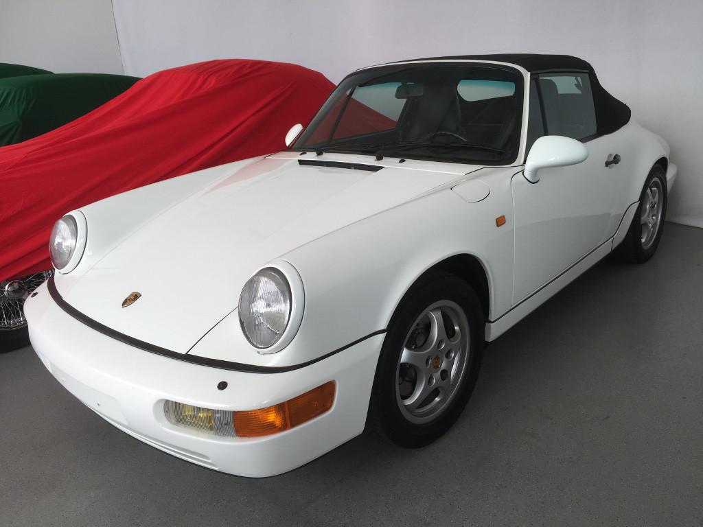 Porsche 964 Carrera 4 Cabriolet Vorne Rechts